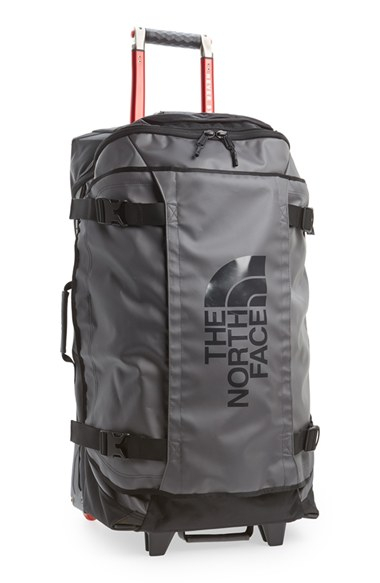 lyst the north face 39 rolling thunder 39 rolling suitcase in gray for men. Black Bedroom Furniture Sets. Home Design Ideas