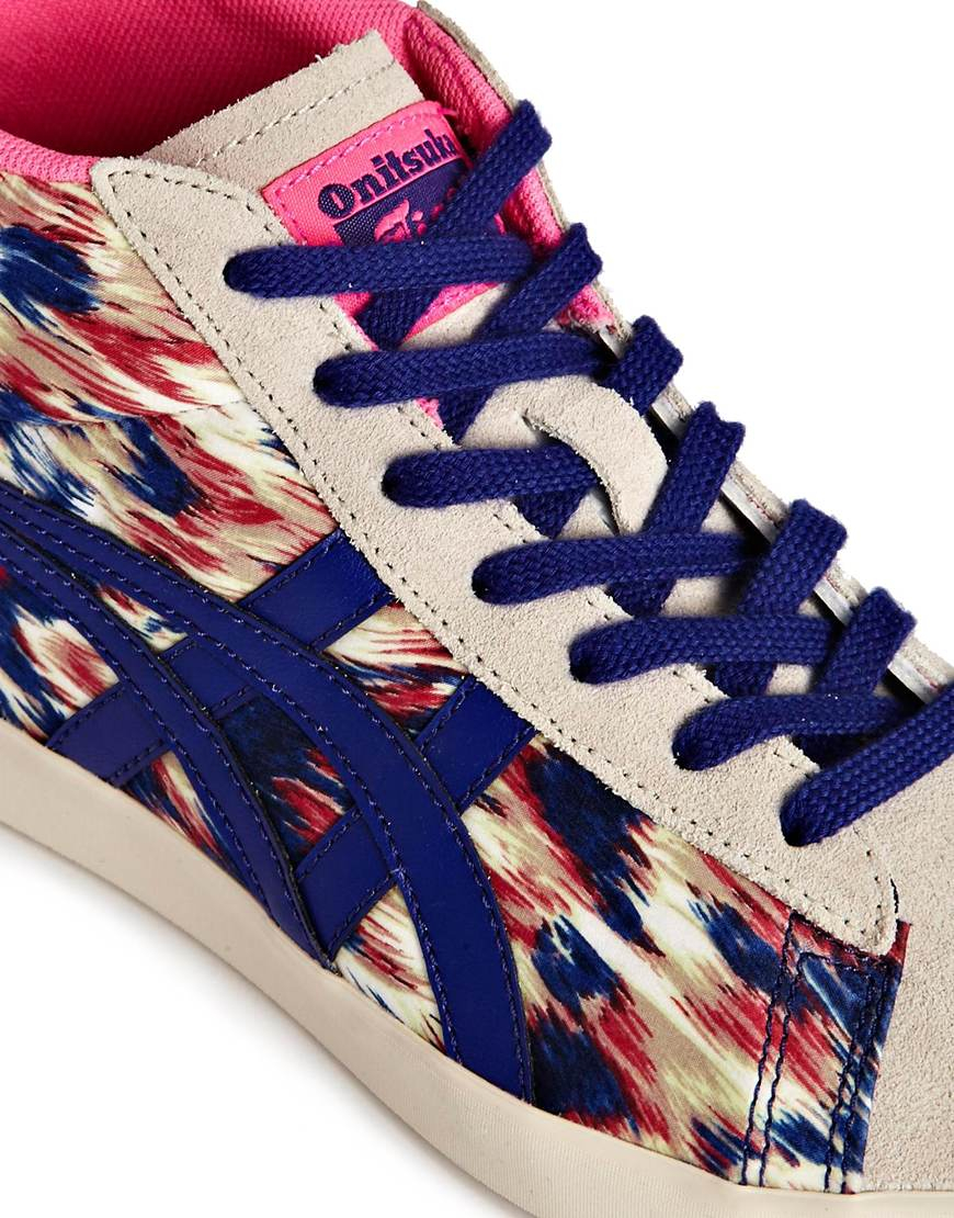 3dc65f95f381 Lyst - Onitsuka Tiger Asics Ontisuka Tiger Grandest High Top Sneakers