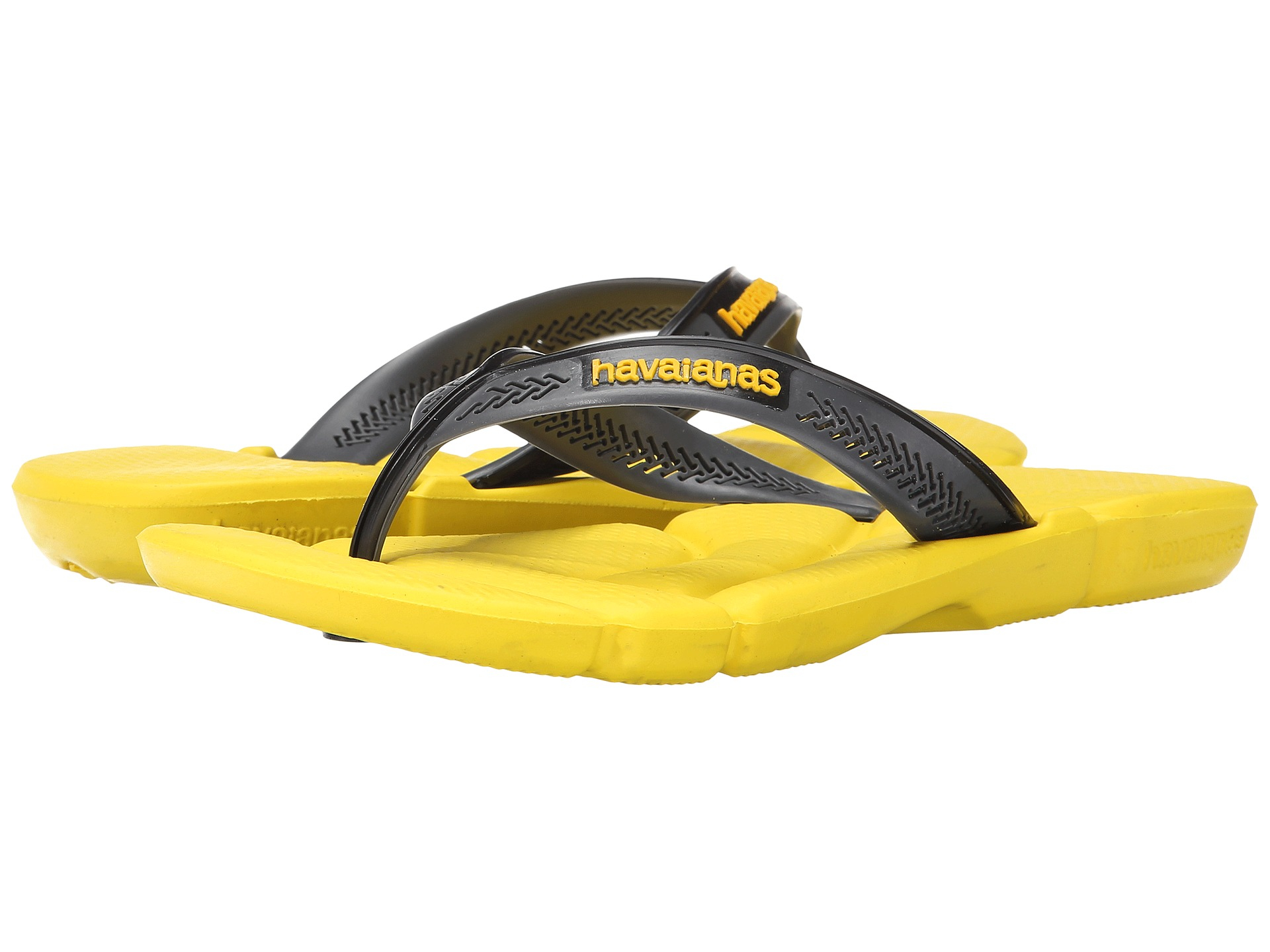 4408bcb353a Lyst - Havaianas Power Flip Flops in Yellow for Men