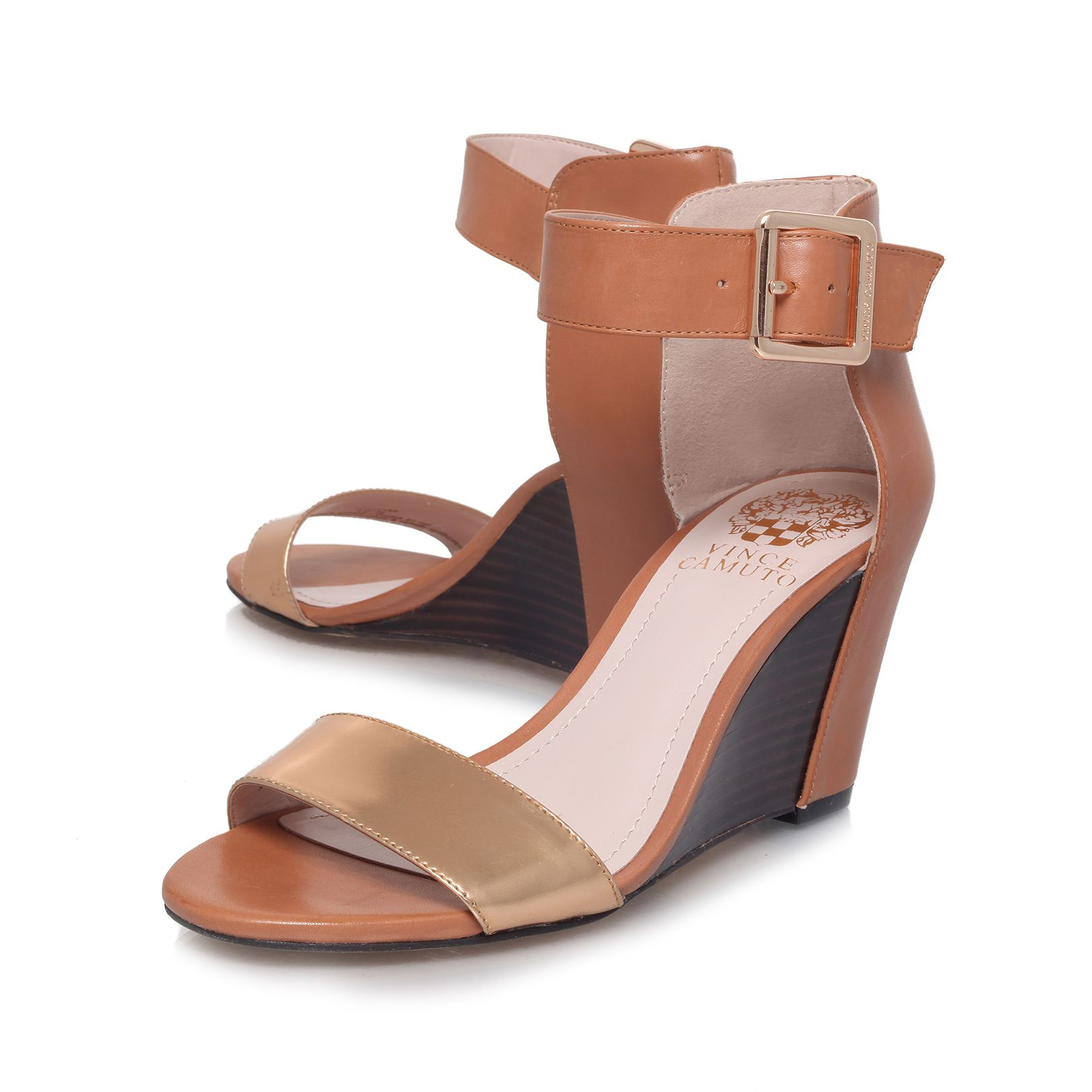 Show All Brown Wedge Heel Shoes For Women