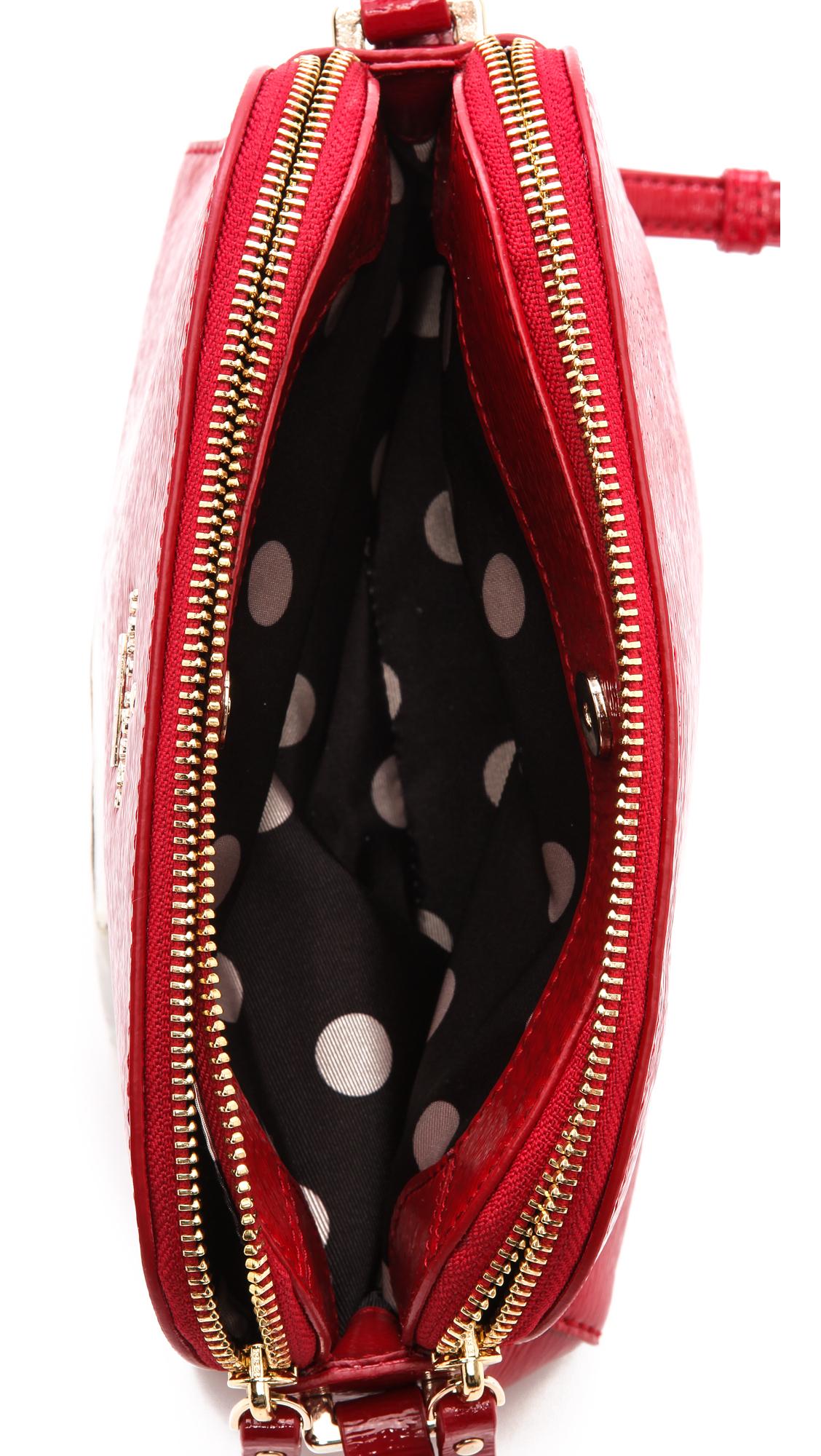 Lyst Kate Spade New York Double Zip Mandy Cross Body Bag