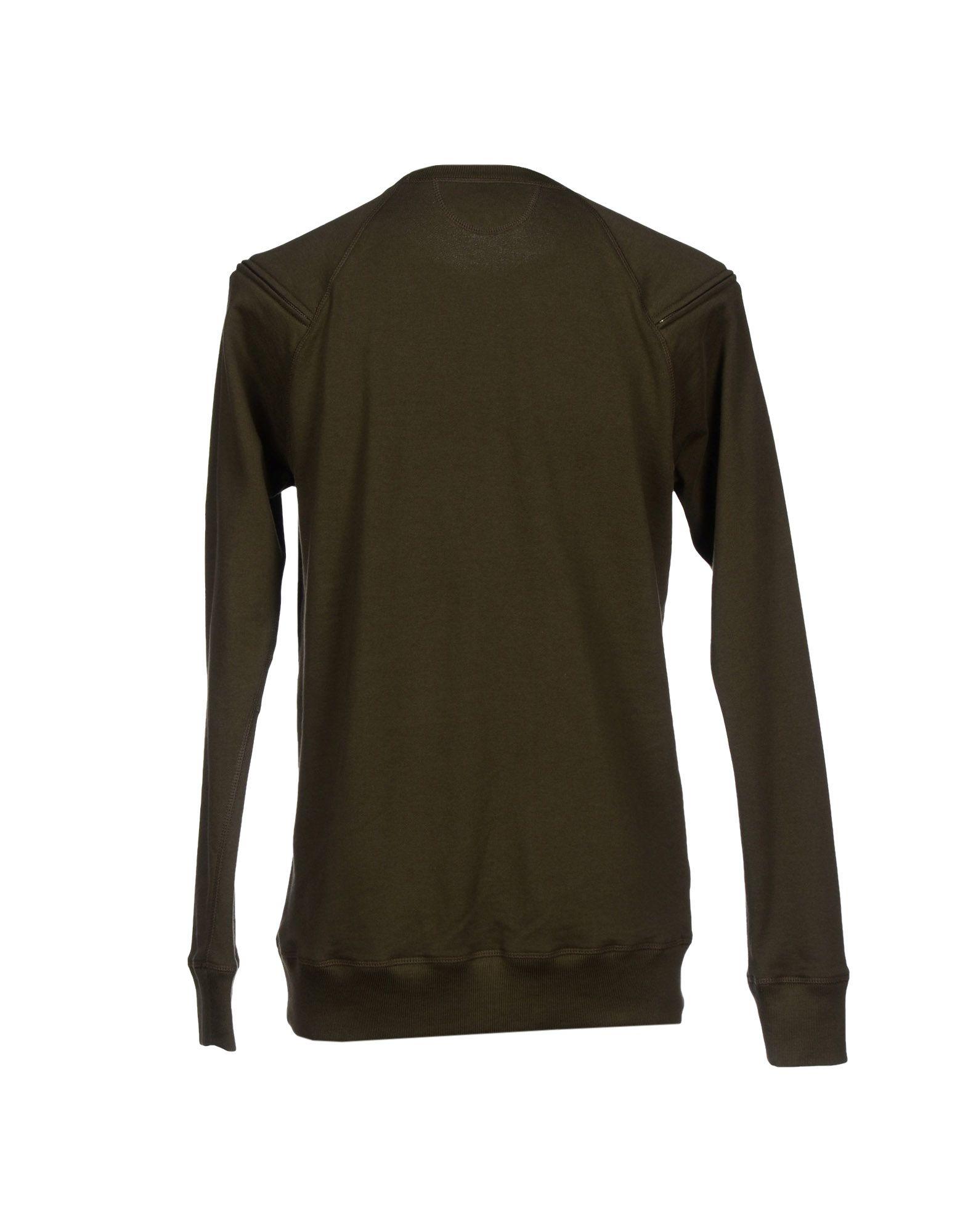 Lyst helmut lang sweatshirt in green for men - Sweatshirt kleid lang ...