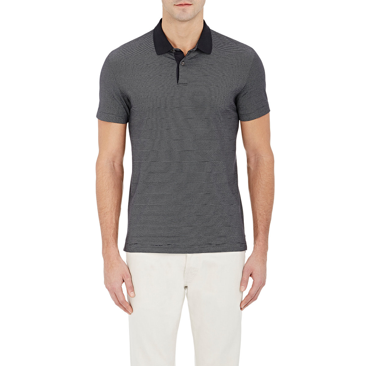 theory s sandhurst polo shirt in blue for lyst
