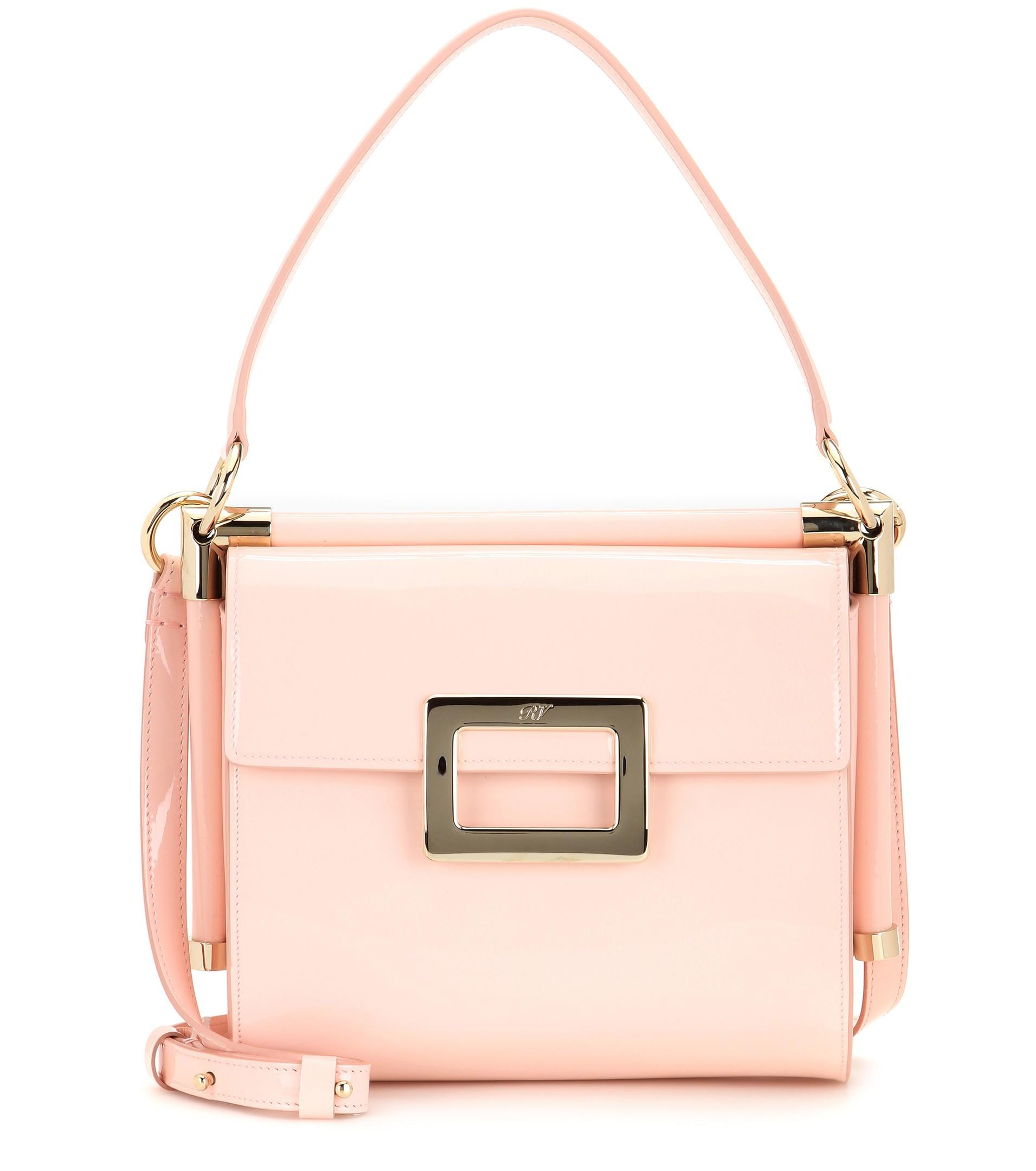 6f2a27de2a6b Roger Vivier Miss Viv  Carré Small Patent Leather Shoulder Bag in ...