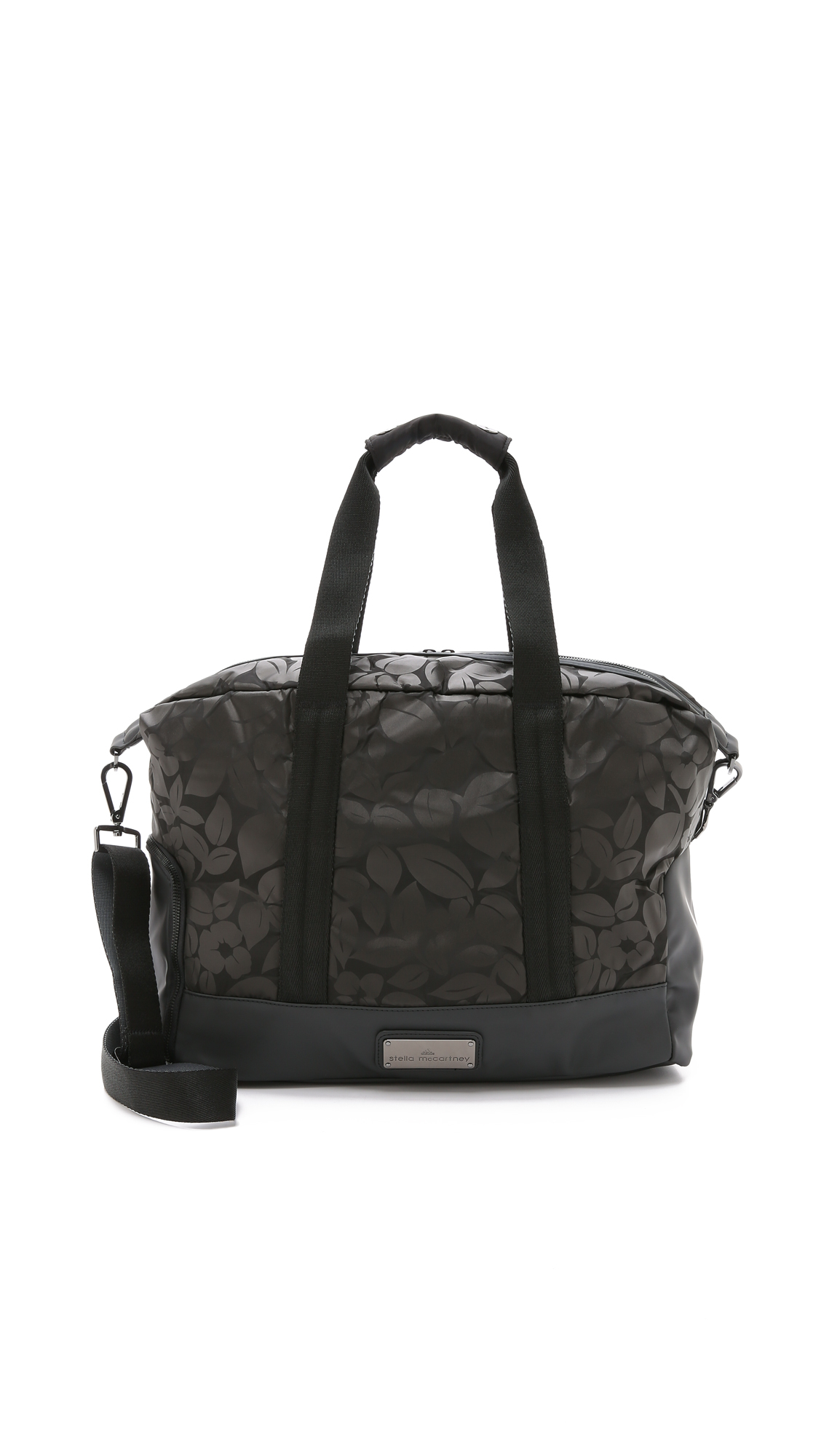 c766a6f3 adidas By Stella McCartney Small Gym Bag - Black/gunmetal in Black ...