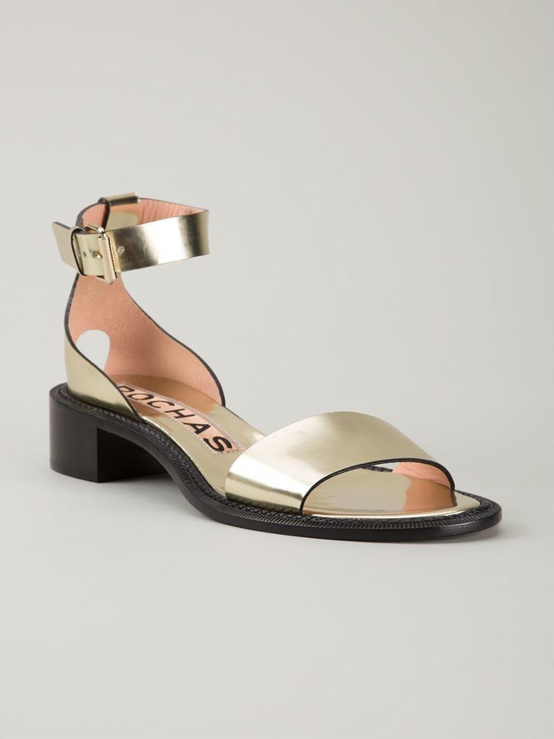 Rochas Jewel-Embellished Ankle Strap Pumps w/ Tags sale hot sale iJbRH2