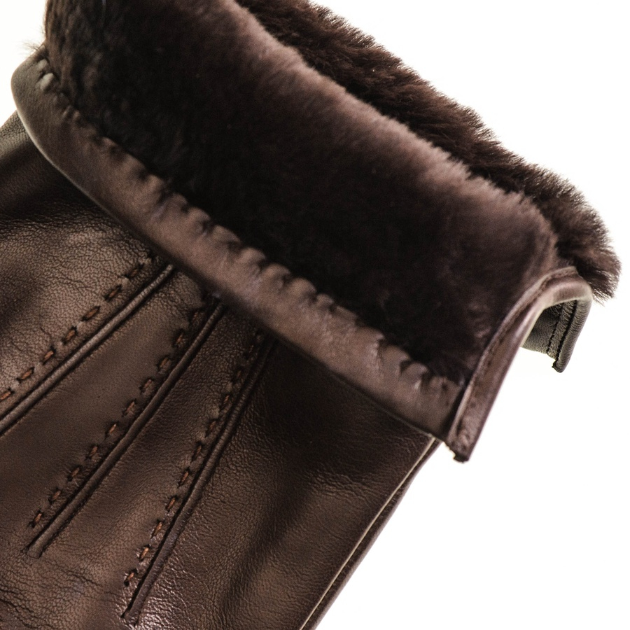 Mens Leather Gloves Topman