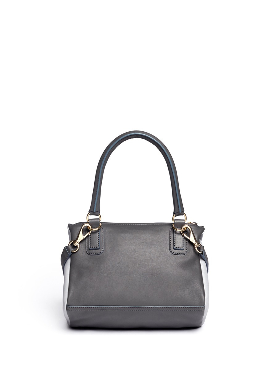 Lyst - Givenchy Pandora Small Leather Bag in Blue e4120145f5c1b