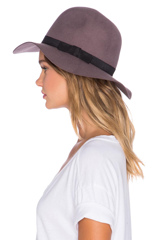 ... where can i buy lyst brixton dalila hat in purple c53a1 e079d ... 6579fae7a8e9