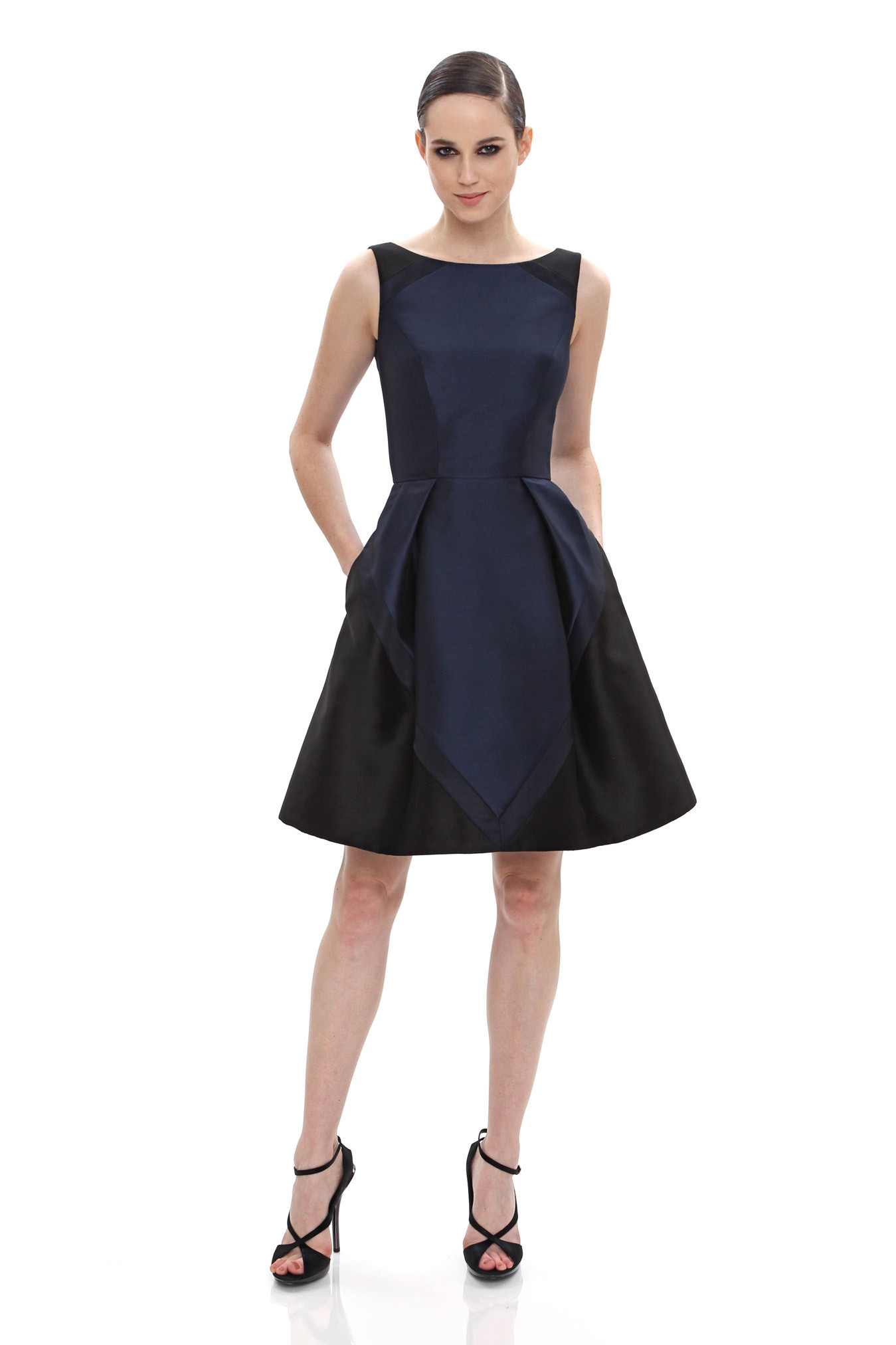 Color block party dress - Color Block Party Dress Gallery Women S Party Dresses