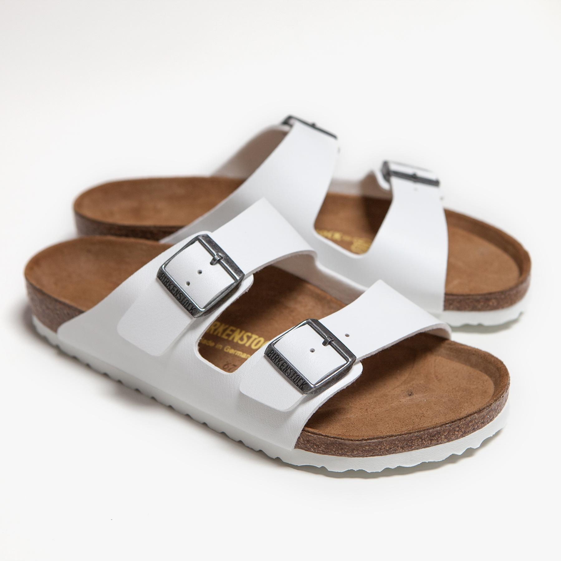 Lyst James Perse Birkenstock Arizona Sandal Womens In White