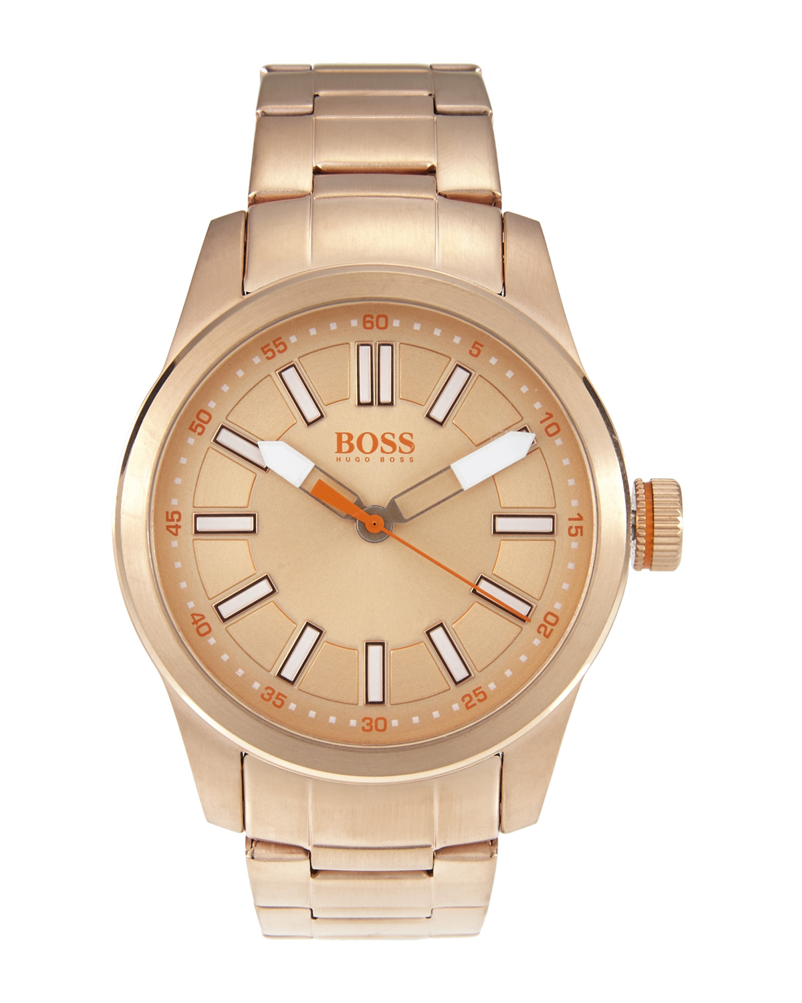 bc5a451025c Lyst - Boss Orange 1512993 Rose Gold-Tone Watch in Metallic for Men