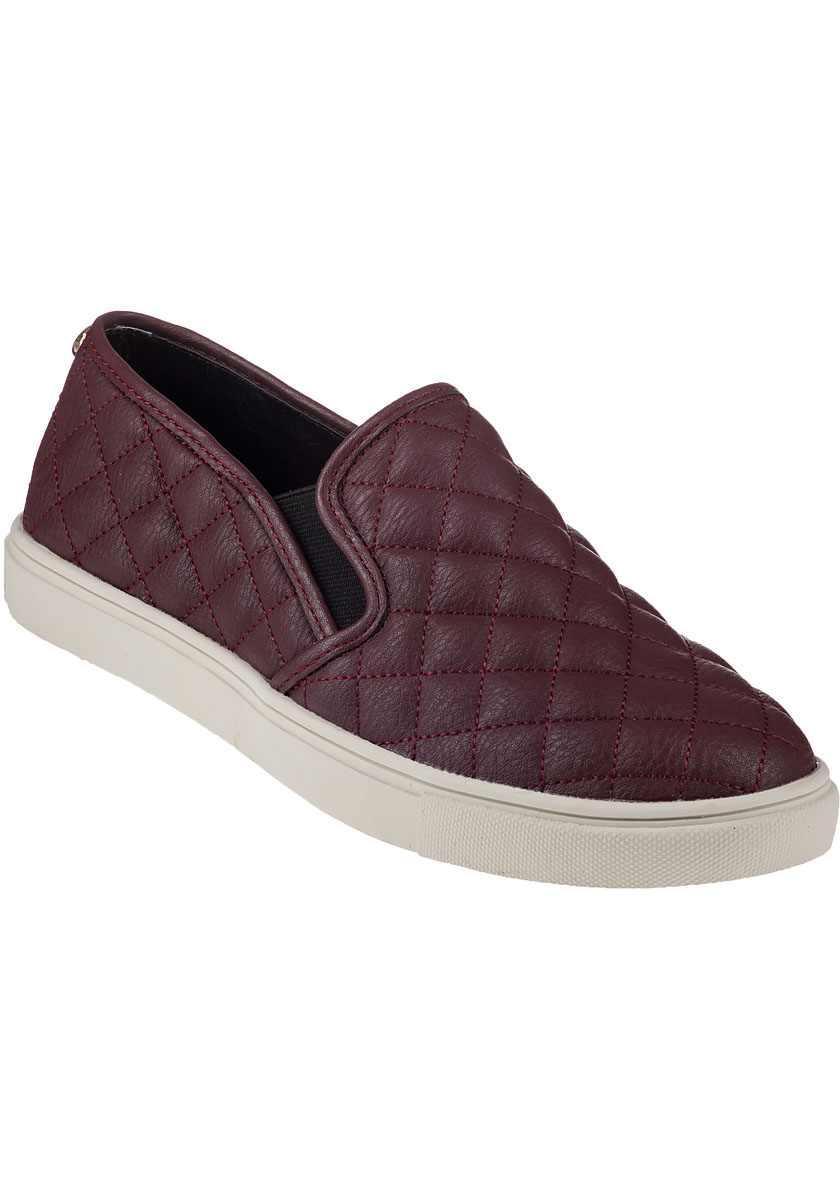 638609ea98c Lyst - Steve Madden Ecentrcq Slip-on Sneaker Wine in Purple