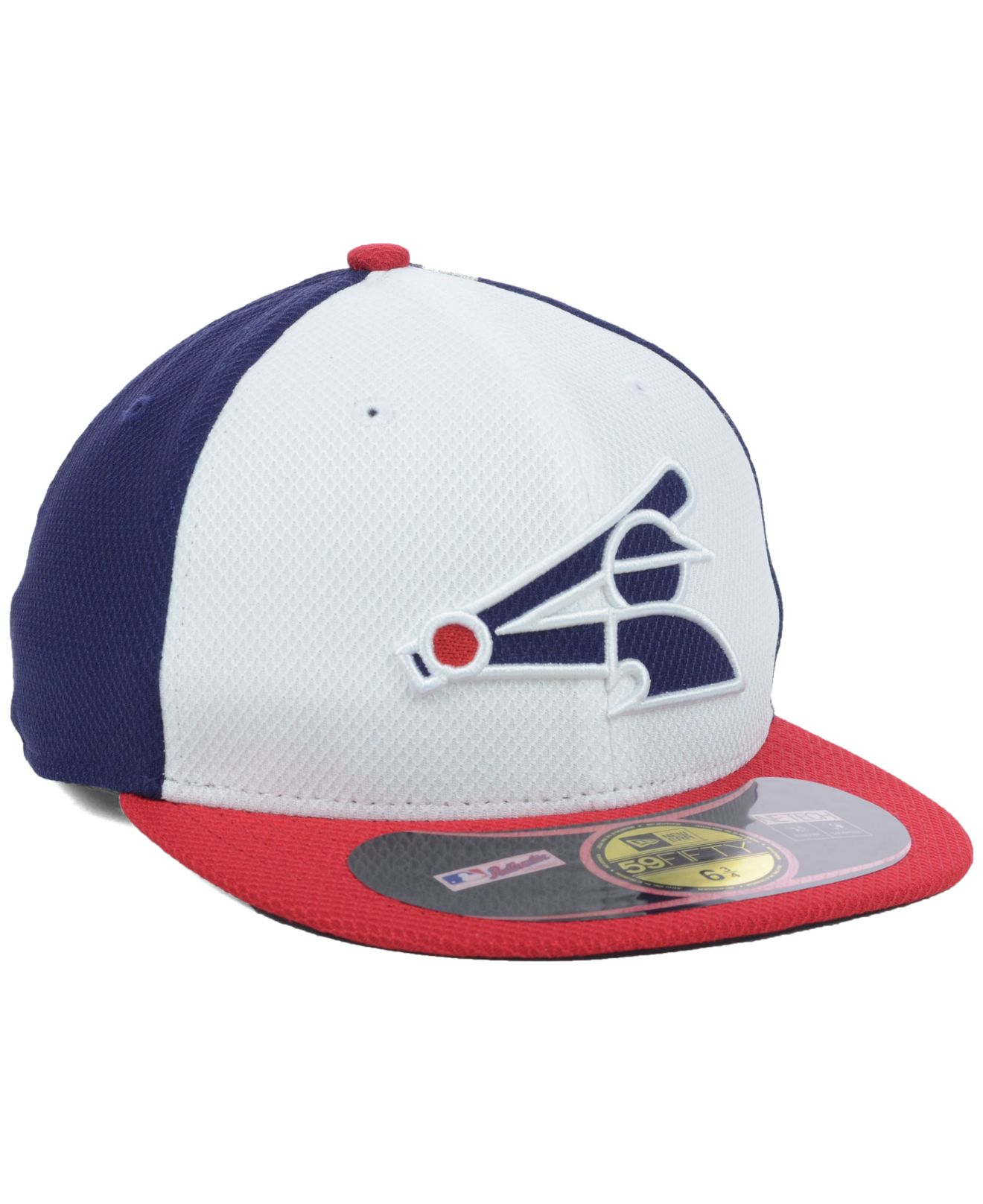 save off 1367b da77e ... sweden lyst ktz kids chicago white sox mlb diamond era 59fifty cap in  blue for men