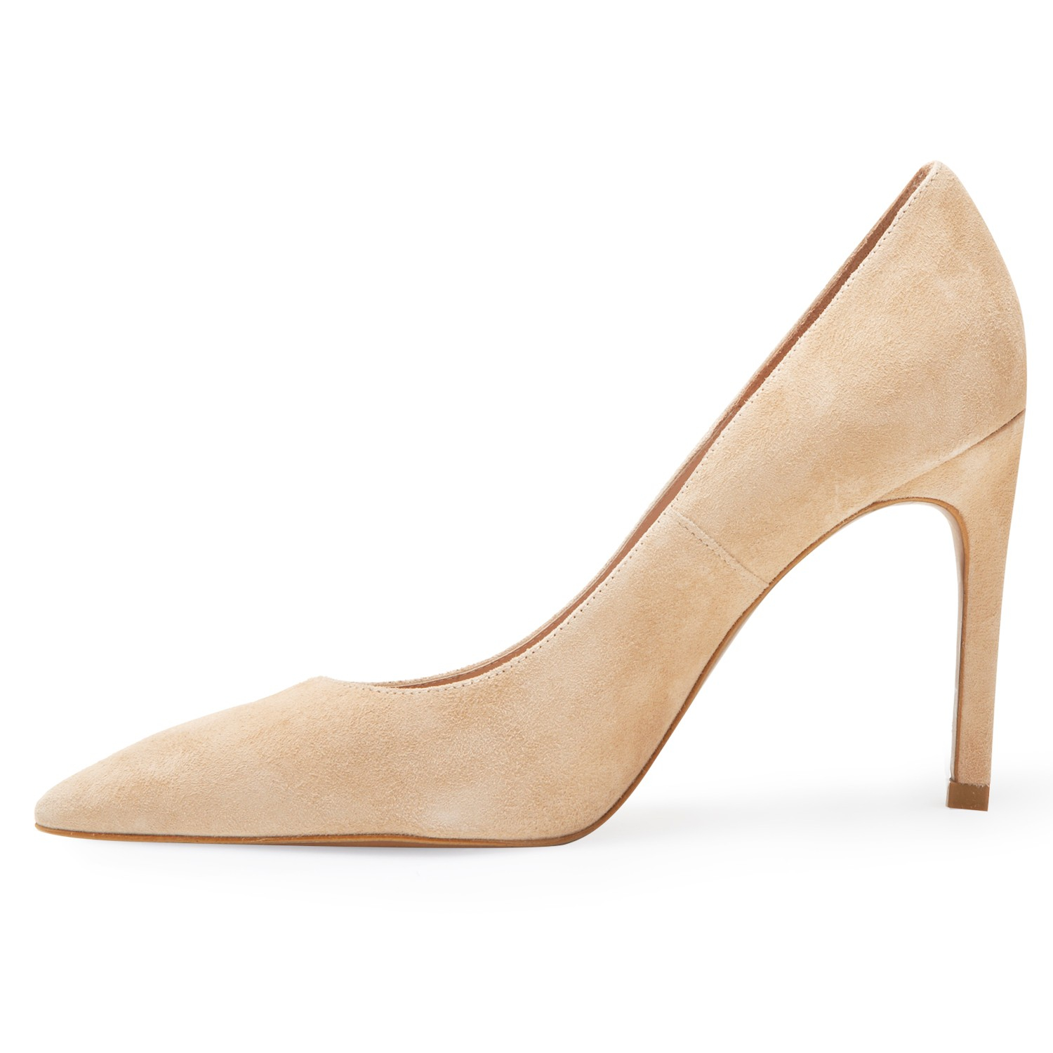 f975d717537e8 Whistles Cornel High Heeled Stiletto Court Shoes in Natural - Lyst