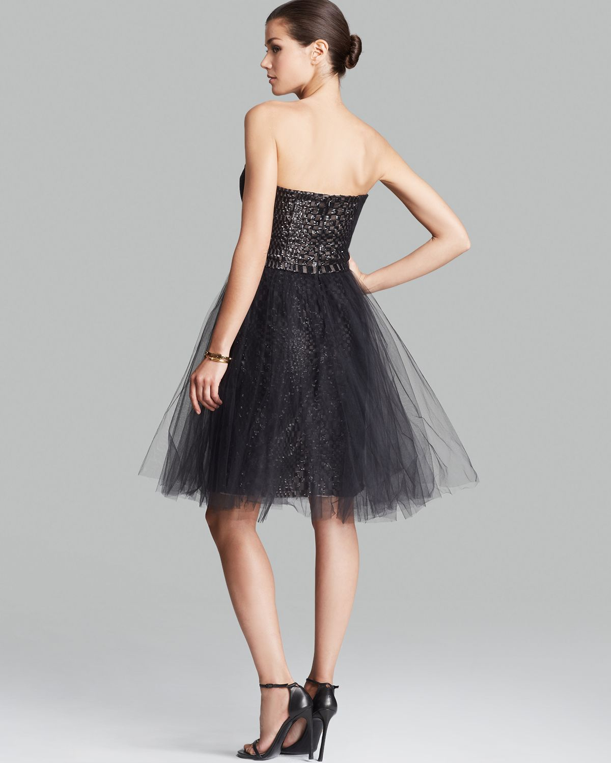 Strapless Tulle Dress