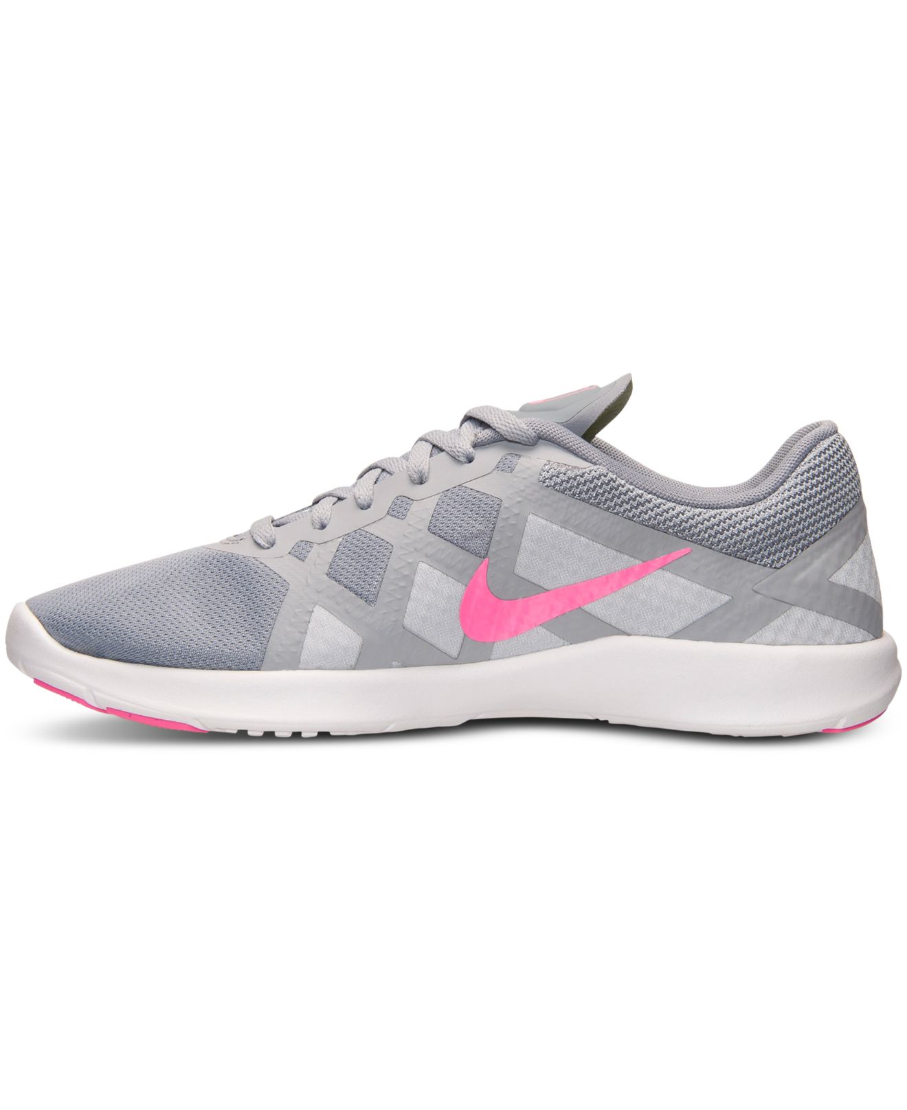 a92b7fa3f103 Lyst - Nike Women s Lunar Lux Tr Training Sneakers From Finish Line ...