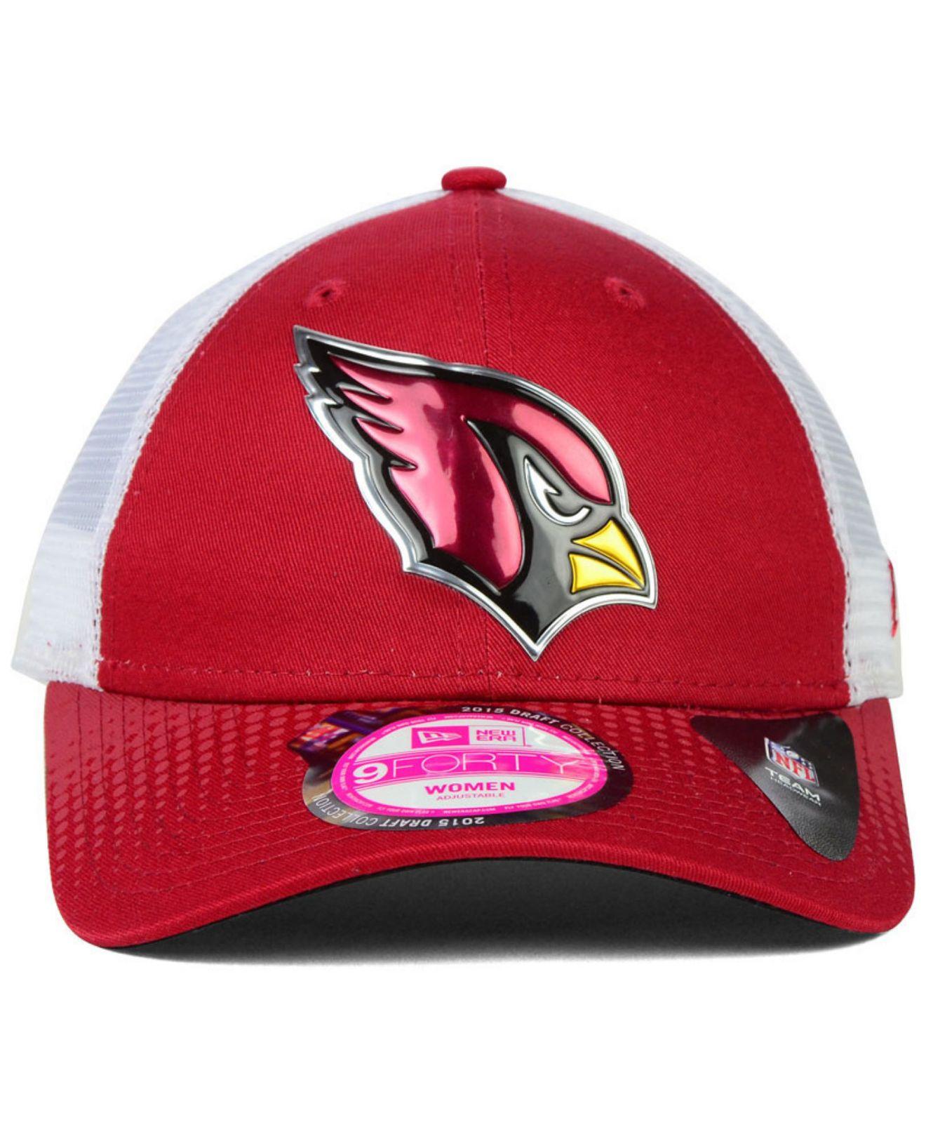 Lyst - KTZ Women s Arizona Cardinals Draft 9forty Cap in Red 2d3363ddc6