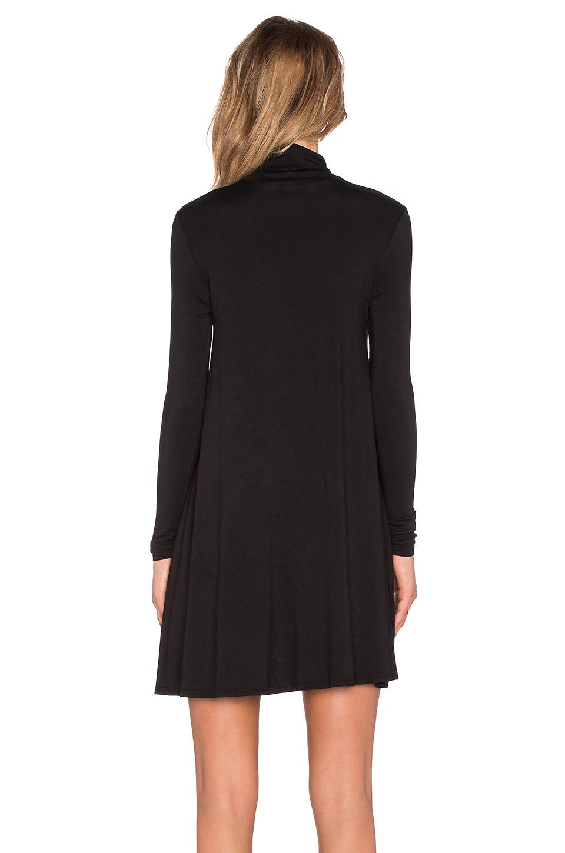 Lamade Penny Turtleneck Dress In Black Lyst