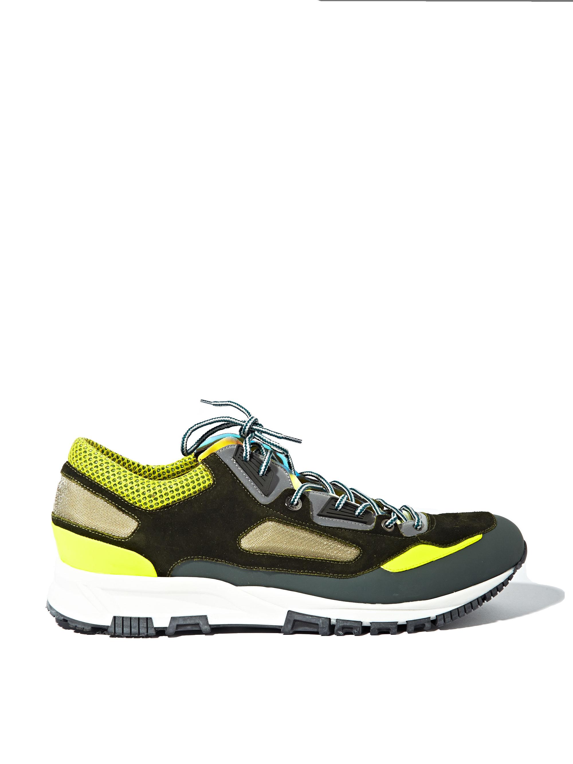 Green and Grey Sport Sneakers Lanvin x4J0z
