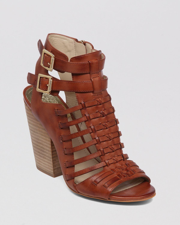 Vince Camuto Open Toe Gladiator Sandals Medow High Heel In
