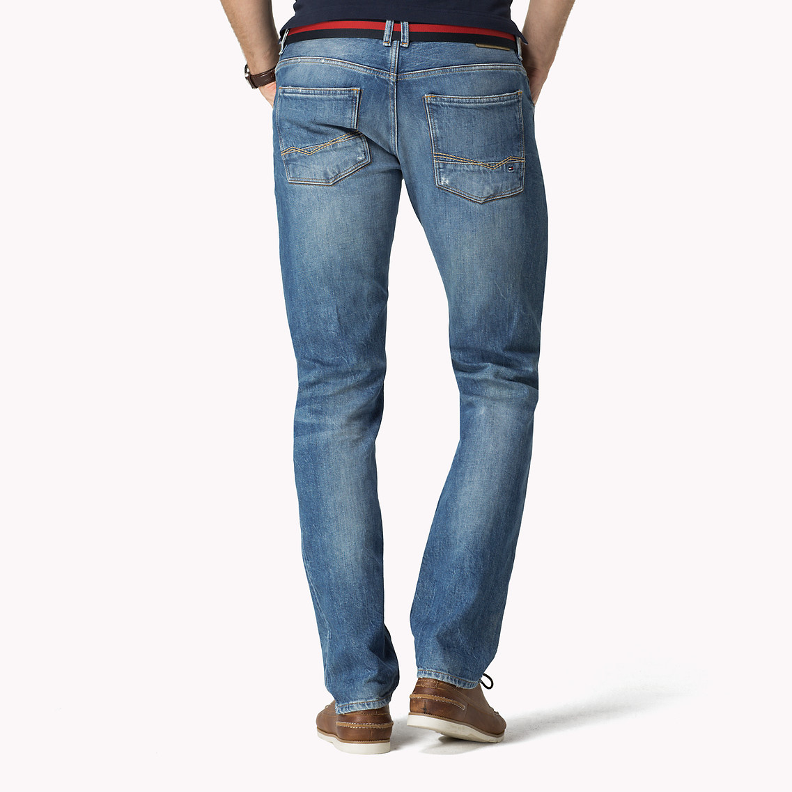 b2265361 Tommy Hilfiger Slim Fit Jeans in Blue for Men - Lyst