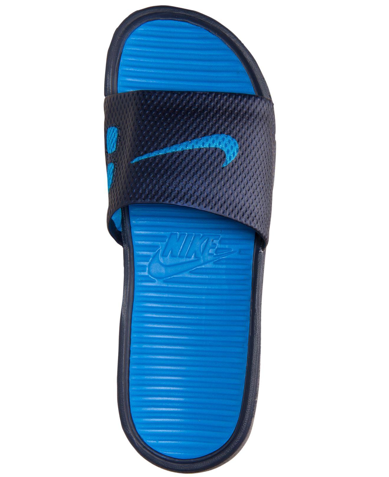99b3292d2b559 Lyst - Nike Men S Benassi Solarsoft Slide Sandals From Finish Line ...
