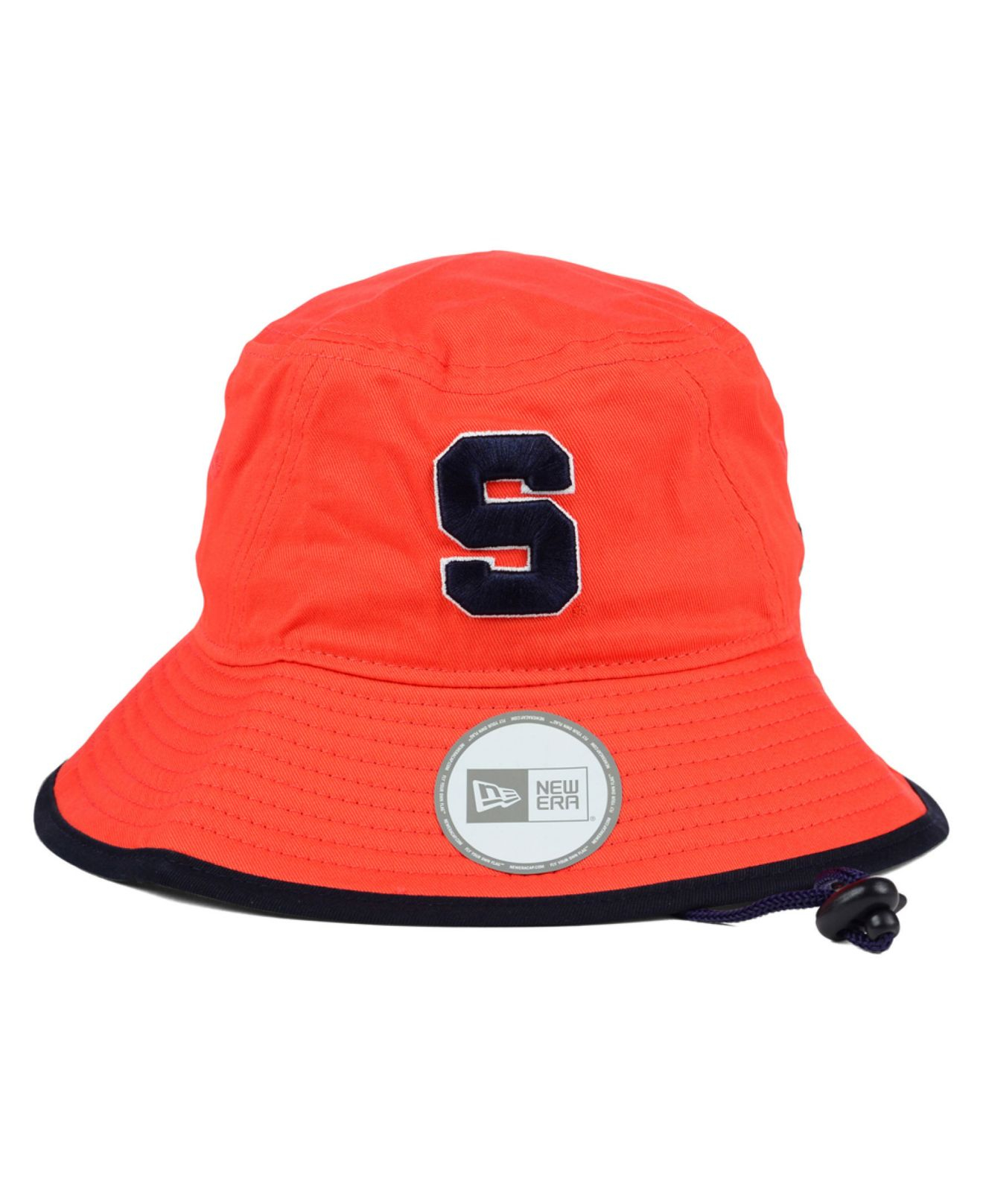 sports shoes 8e4ea 40739 ... spain lyst ktz syracuse orange tip bucket hat in orange for men 45d0c  64d36