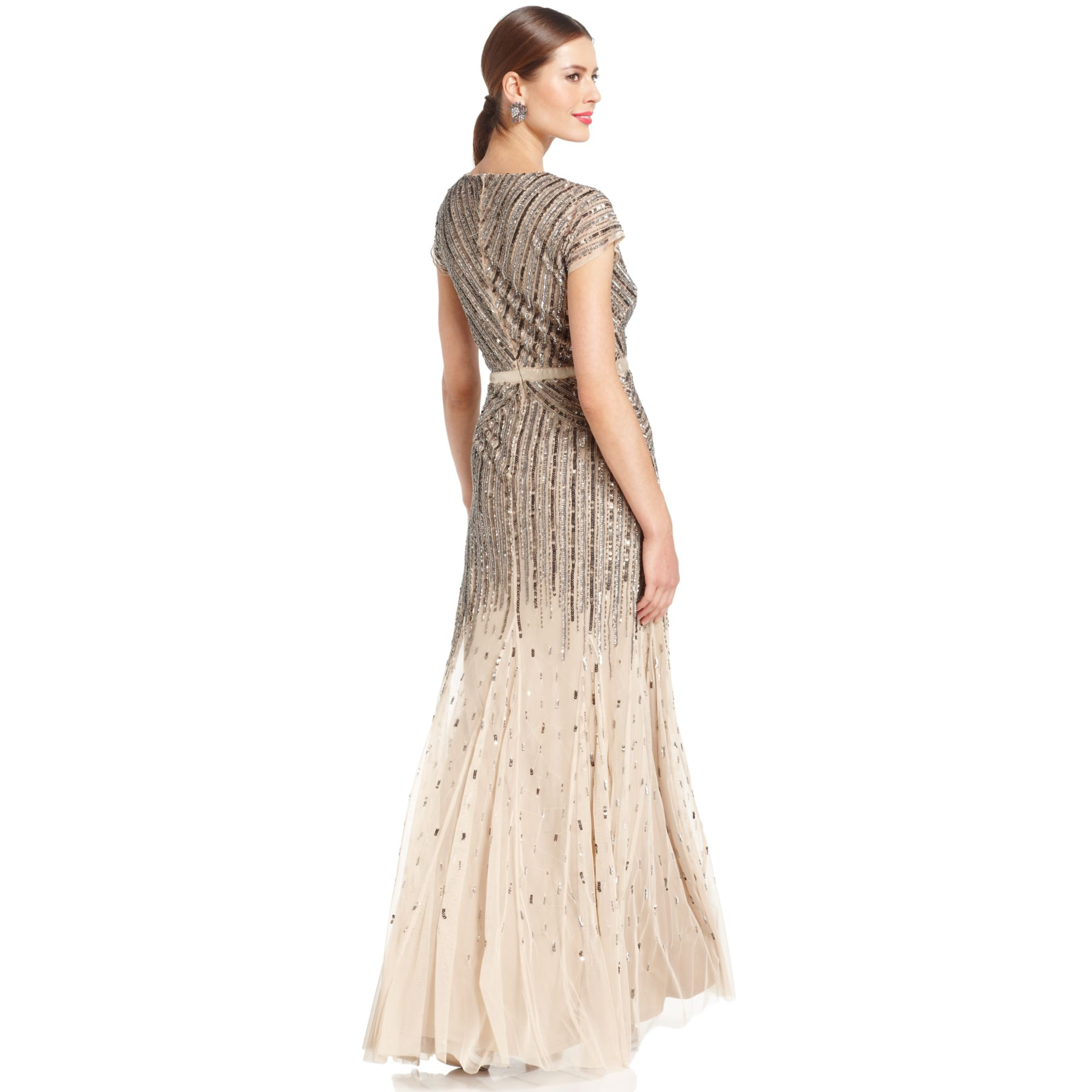 Holidayparty Dresses And Accessories 21 together with Diy Chan Luu Style Bohemian Wrap Bracelet as well Fringe Necklace moreover Adrianna Papell Sleeveless Beaded Blouson Gown Bloomingdales Exclusive Gold in addition Thing. on oscar de la renta beaded earrings