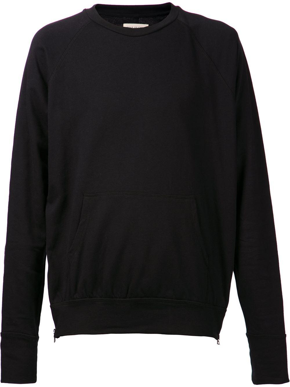 Fear of god Basic Sweater in Black for Men | Lyst