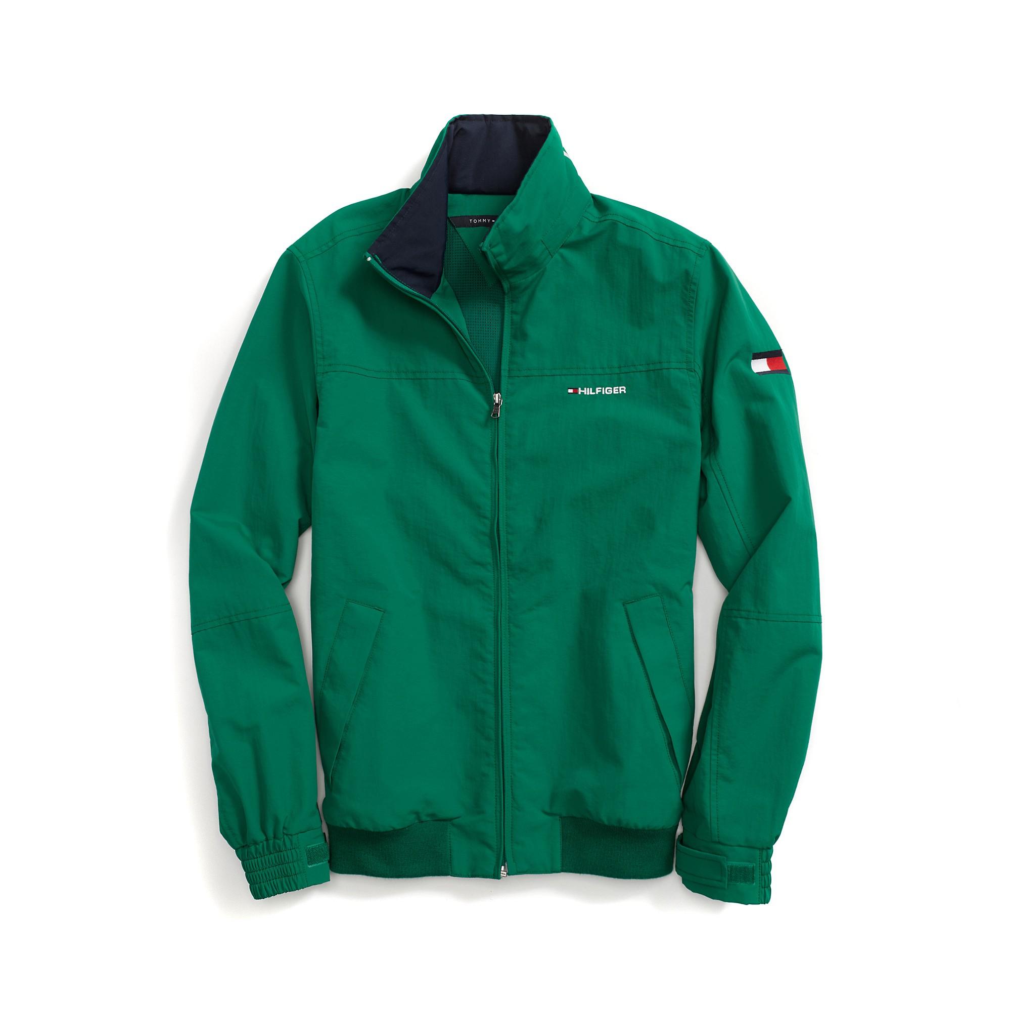 tommy hilfiger yacht jacket in green for men verdant. Black Bedroom Furniture Sets. Home Design Ideas