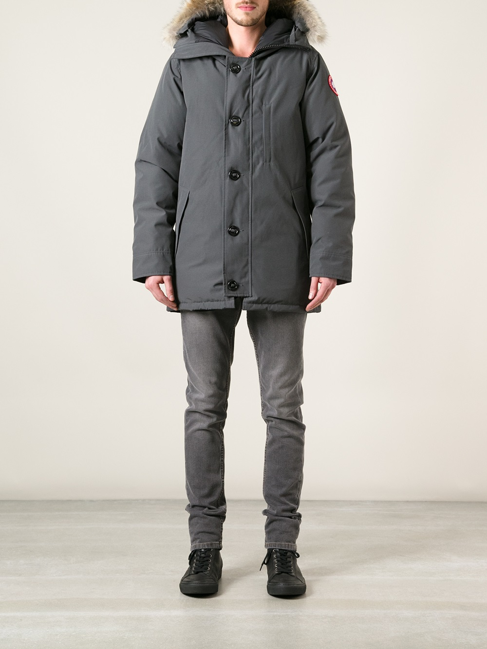 Canada Goose kensington parka sale store - Canada goose 'chateau' Parka in Gray for Men (grey) | Lyst
