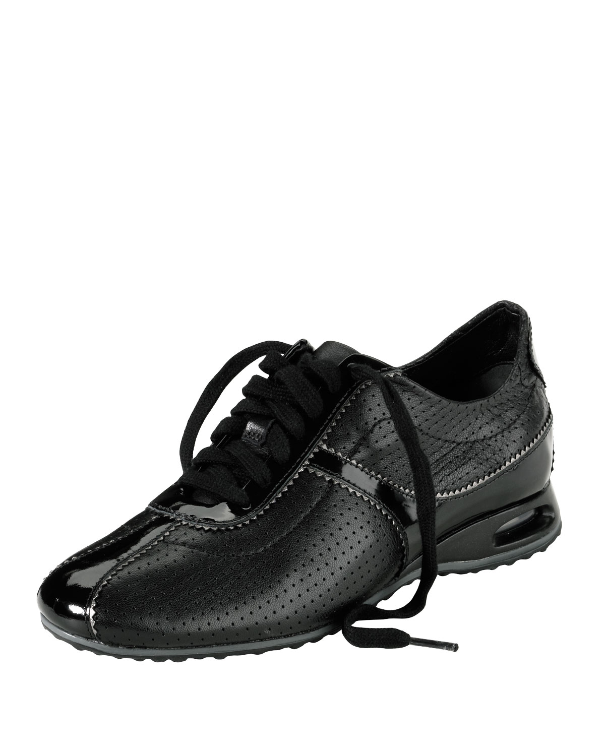 Cole Haan Air Bria Perforated Oxford Sneaker In Black Lyst