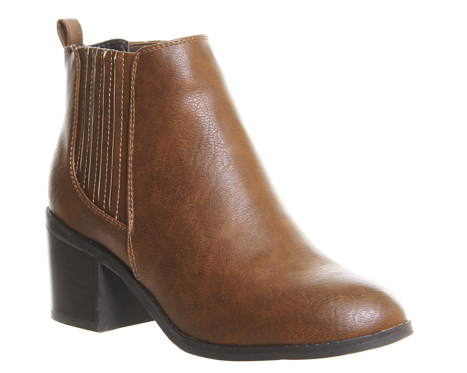 office imitate chelsea boots in brown lyst