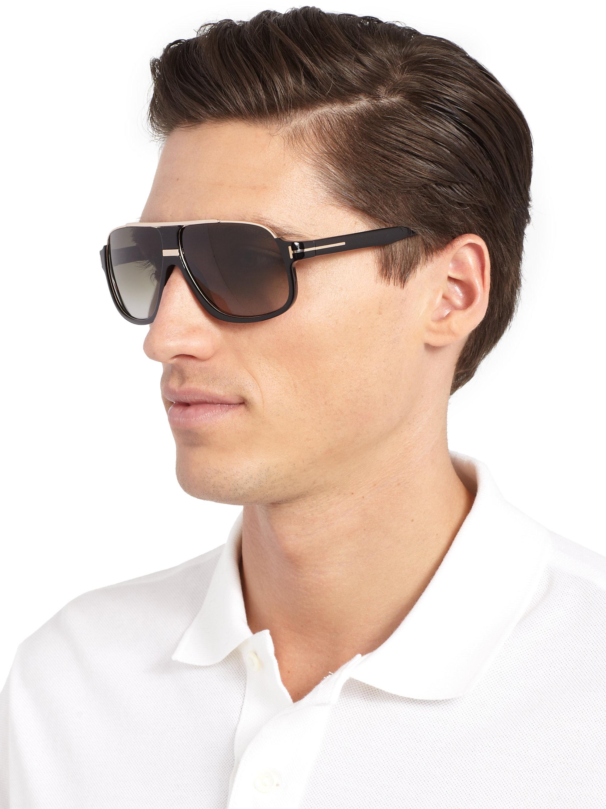 Lyst Tom Ford Eliot Sunglasses In Black For Men