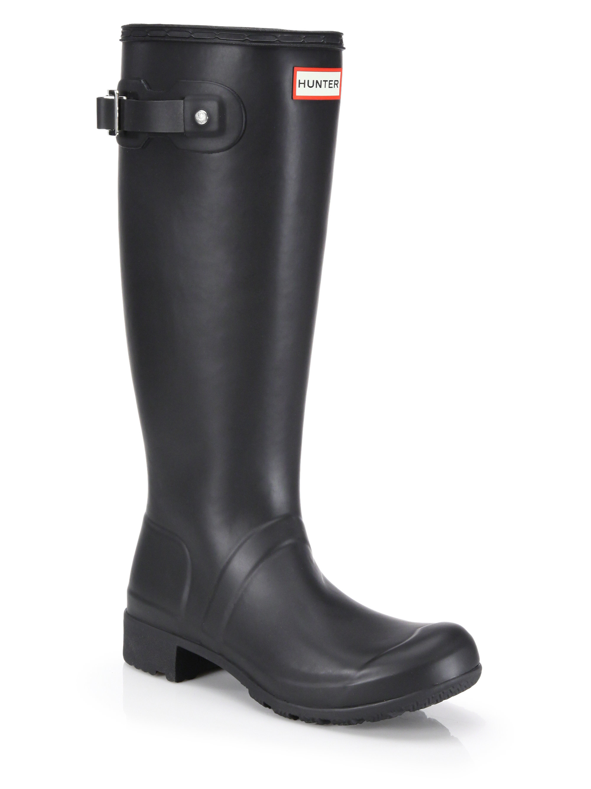 Hunter Original Tour Rain Boots in Black