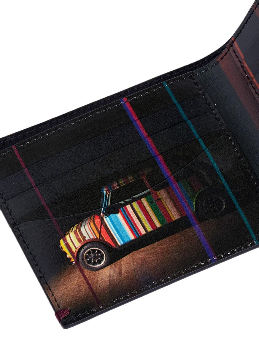 Paul Smith Mini Graphic Edge Print Interior Bi Fold