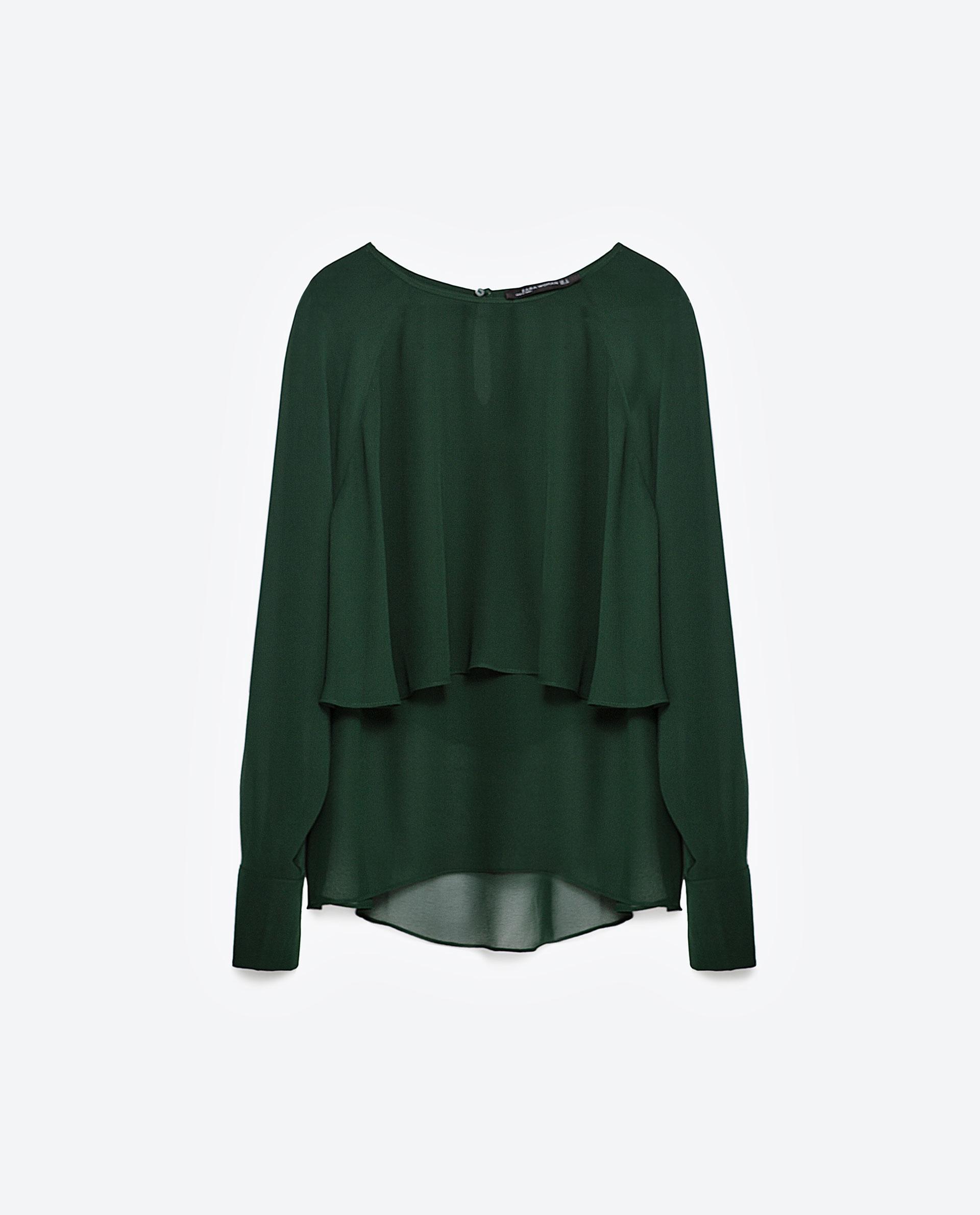 Zara Green Blouse 51