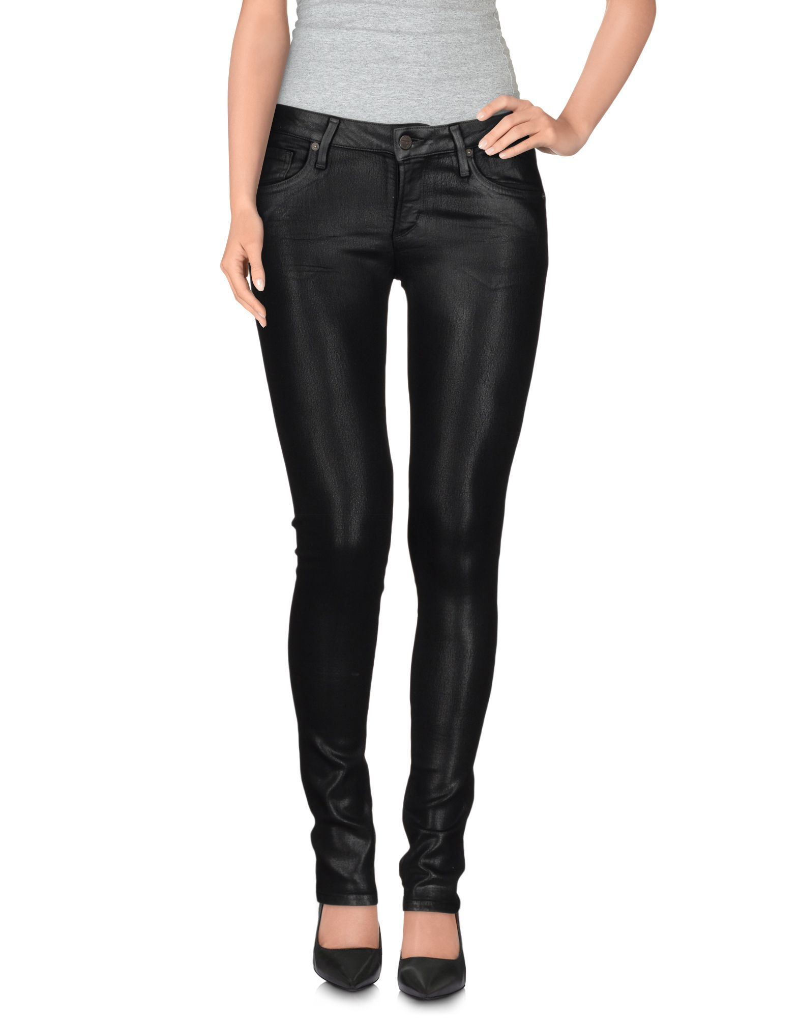 citizens of humanity denim pants in black lyst. Black Bedroom Furniture Sets. Home Design Ideas
