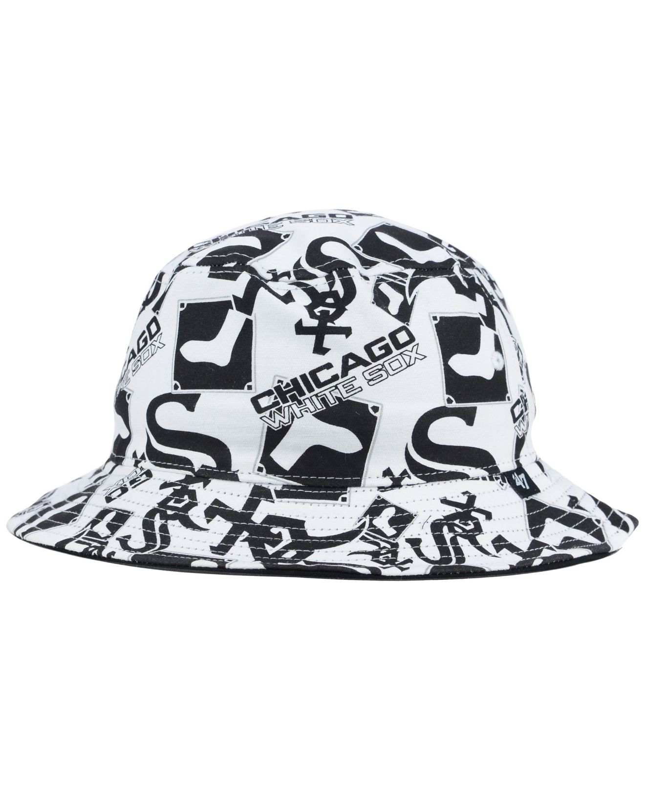 fea1107347cd1 ... wholesale deatstock starter white sox snapback hat lyst 47 brand  chicago white sox bravado bucket hat