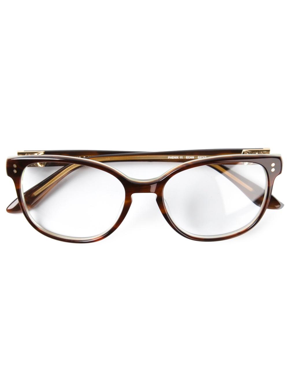 40cb2efd4c357 Lyst - Paul   Joe Phoenix Glasses in Brown