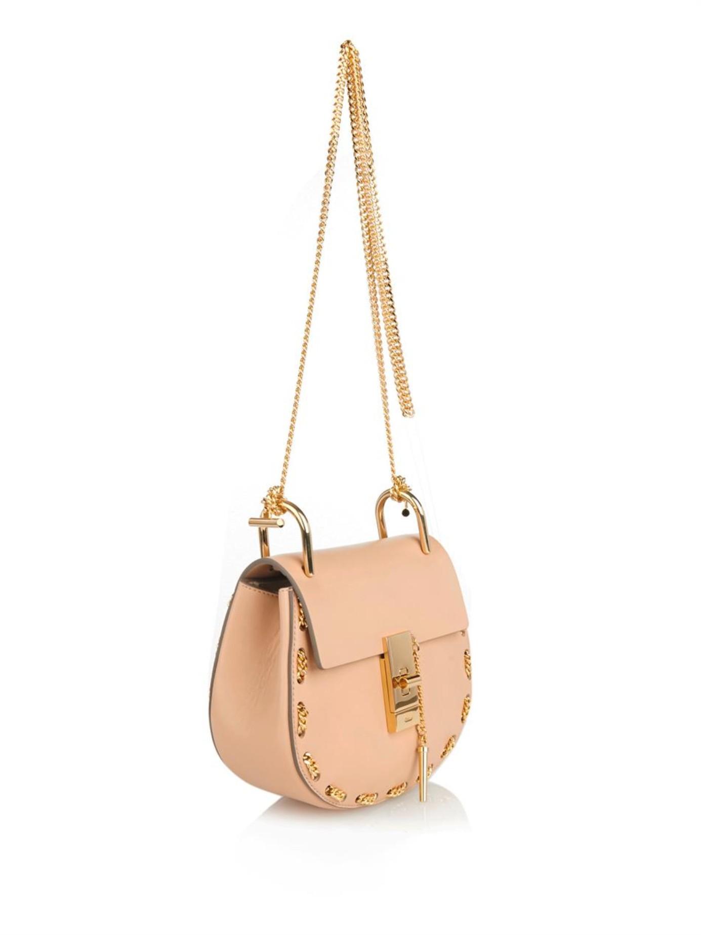 chloe handbags - chloe drew mini chain shoulder bag, cloe purse
