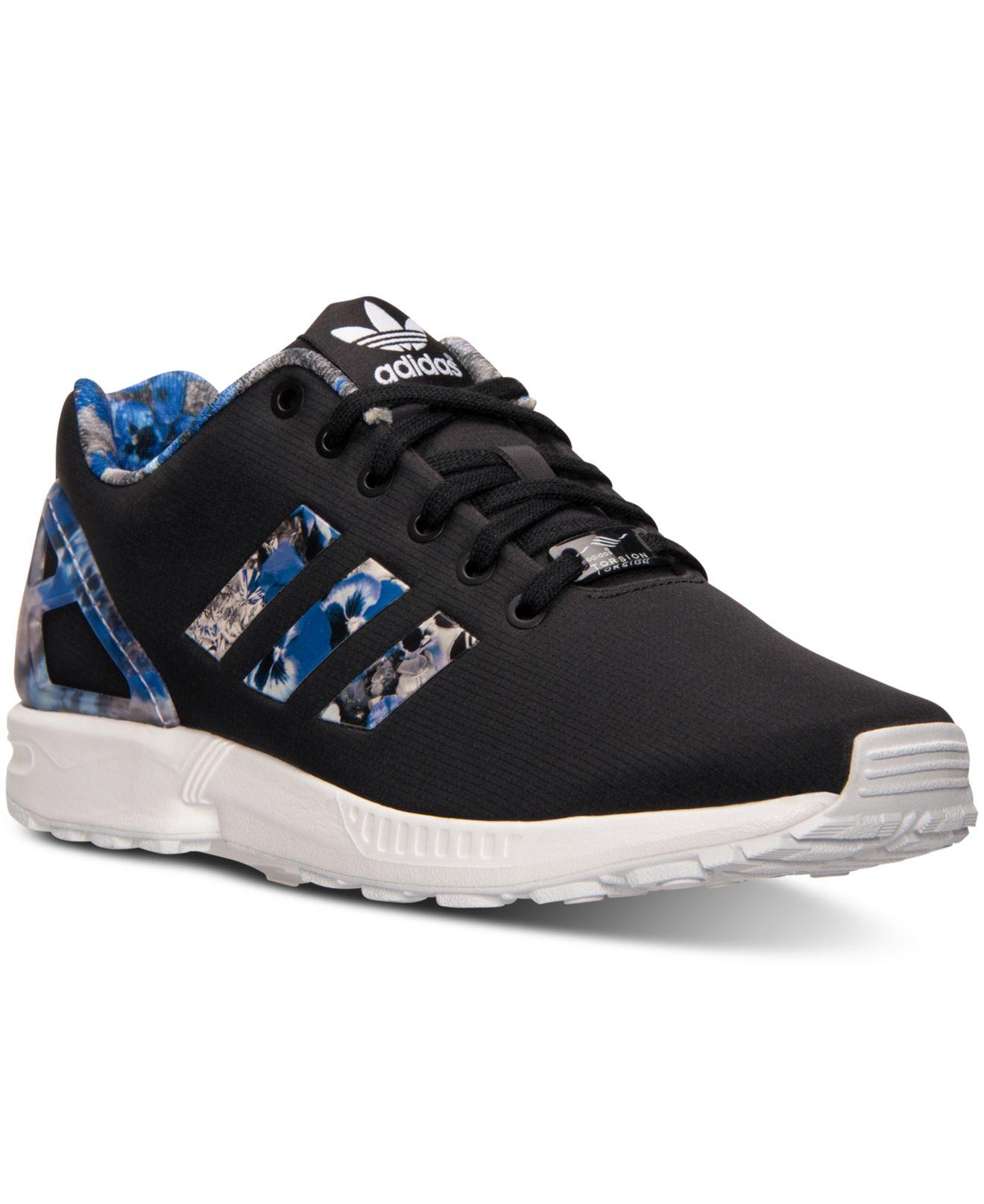 dc1cd6439 Lyst - adidas Originals Men s Zx Flux Print Running Sneakers From ...