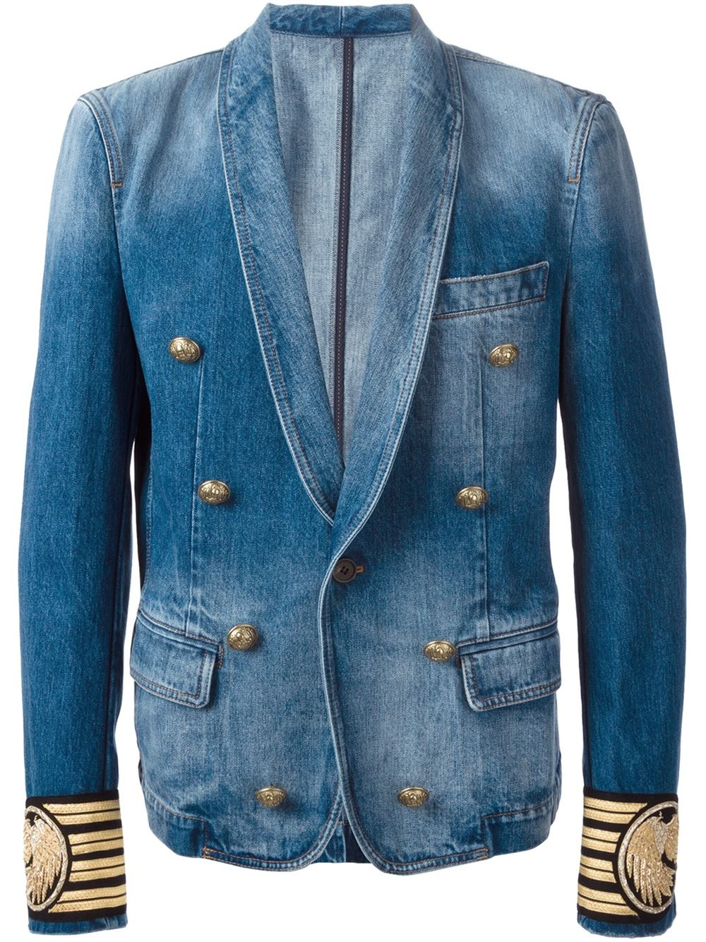 2. Men Blue Campus Sports Denim Blazer: This Denim Blazers for Men are the ideal piece to make a preppy look. The sharp cut and tasteful hues make it an exceedingly wanted thing for the form forward youth.