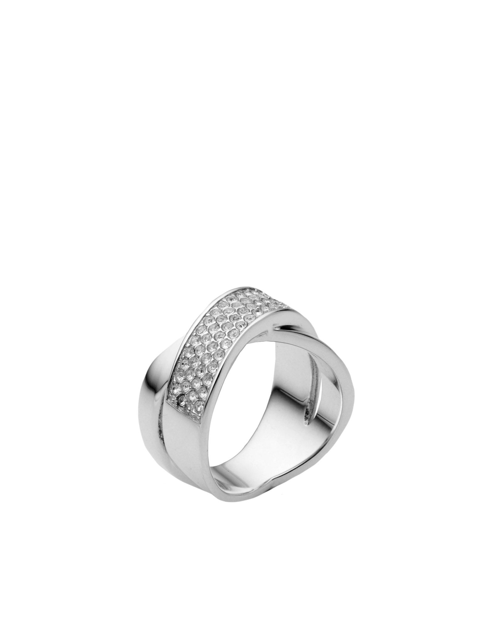 michael kors ring in silver lyst