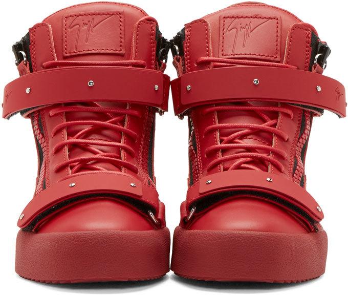 Giuseppe Zanotti London High-Top Sneakers bdUYIBFn