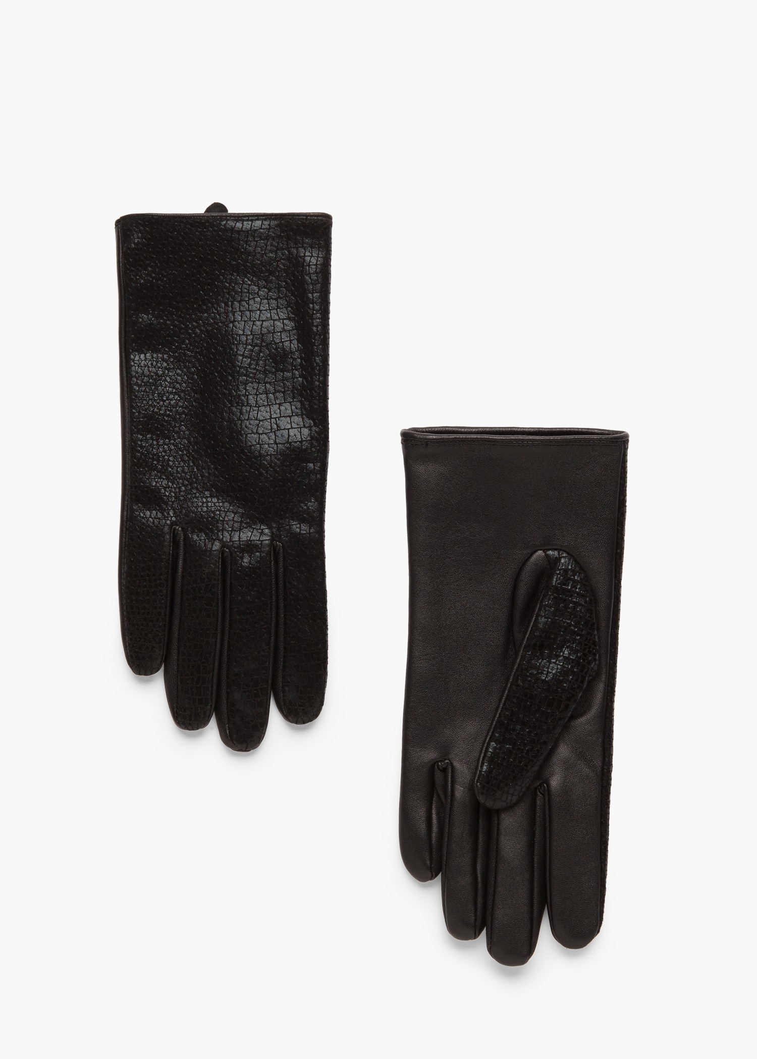 John lewis ladies black leather gloves - Gallery Women S Leather Gloves