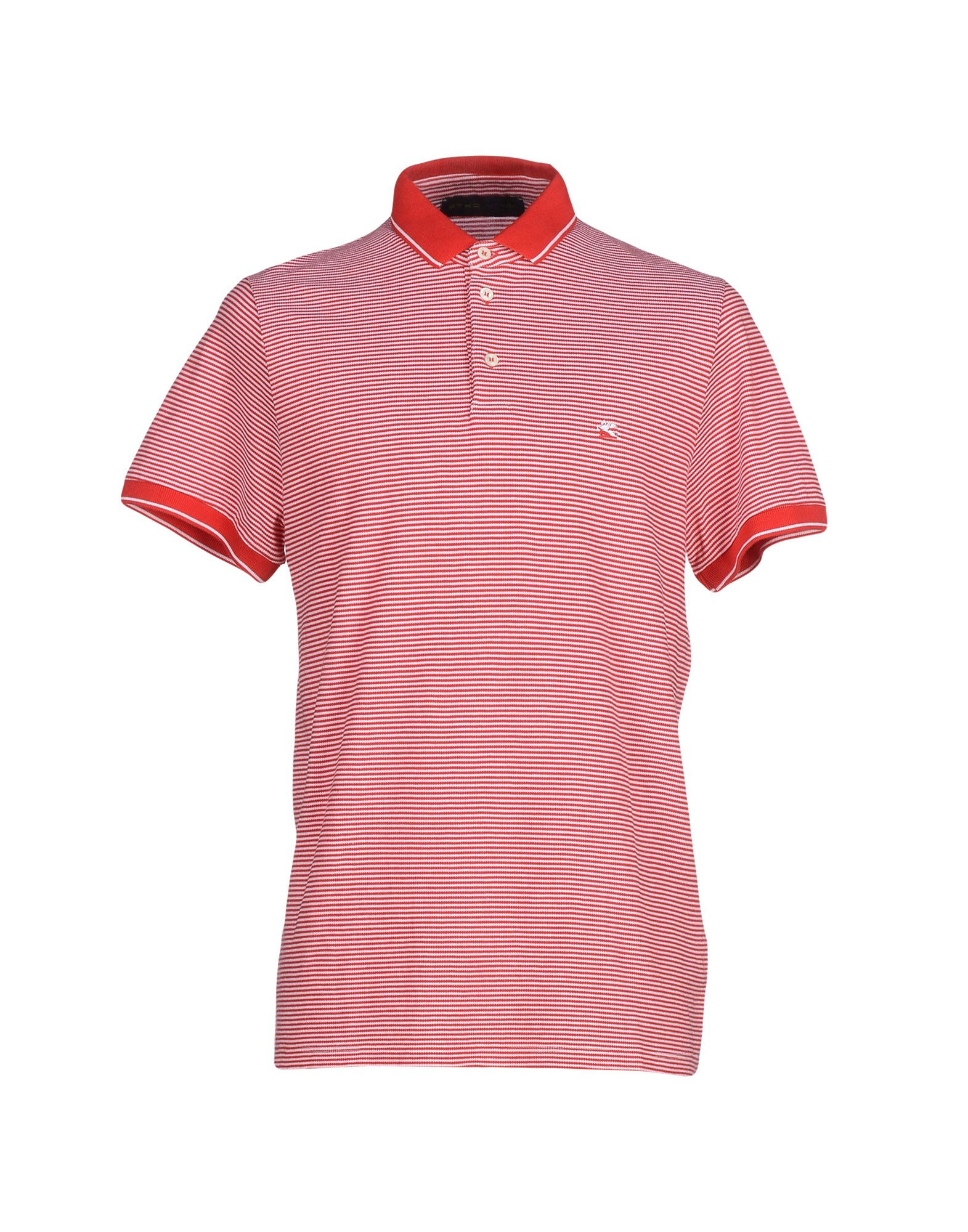 Lyst etro polo shirt in red for men for Etro men s shirts
