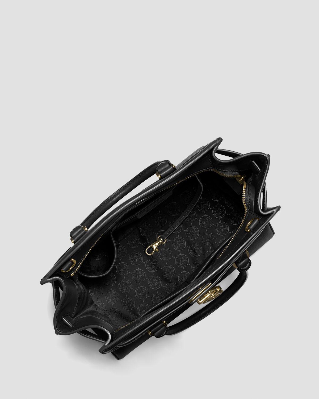 5d708ca21a Lyst - MICHAEL Michael Kors Tote - Hamilton Traveler Large in Black