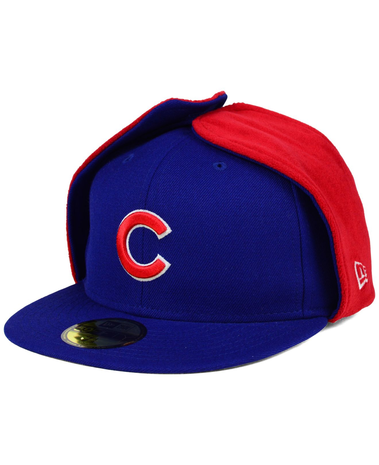 268df48035f Lyst - KTZ Chicago Cubs Dog Ear 59fifty Cap in Red for Men